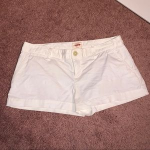 Mossimo White Shorts (stretch)